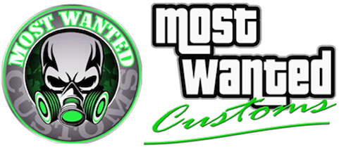 Logo Most Wanted Customs and Detailing - Genk, Maasmechelen