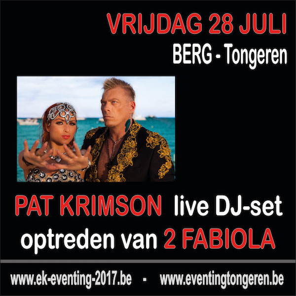 Eventing-Party met Pat Krimson en Loredana on tour