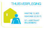 Thuisverpleging Martine Claes