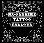 Logo Moonshine tattoo parlour