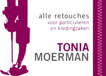 Logo Tonia Moerman - Retouches Waregem