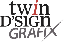 Logo twin D'SIGN GRAFIX - Zedelgem