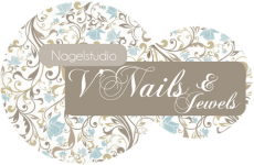 Logo Nagelstudio V'Nails & Jewels - Juwelen Hamme