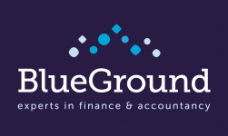 Logo BlueGround - Finance & accountancy