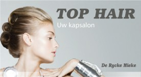 Logo Kapsalon Top Hair - Kapster Gavere
