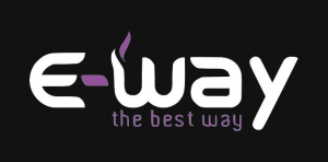 Logo E-Way the best way - Elektronische sigaretten Oud-Turnhout
