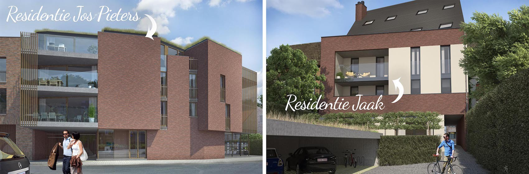Header D-Build - Residentie Jos Pieters & Jaak - Diepenbeek