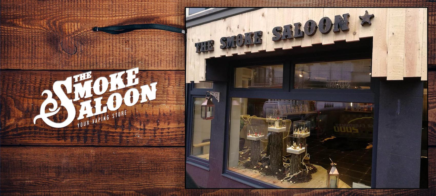 Header The Smoke Saloon - E-sigaretten Beringen