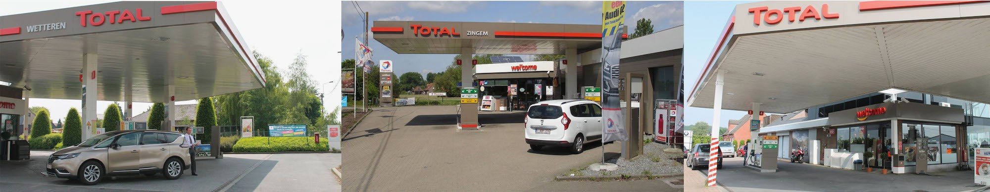 Header Total / DV Fuel & Shop - Tankstation Oosterzele