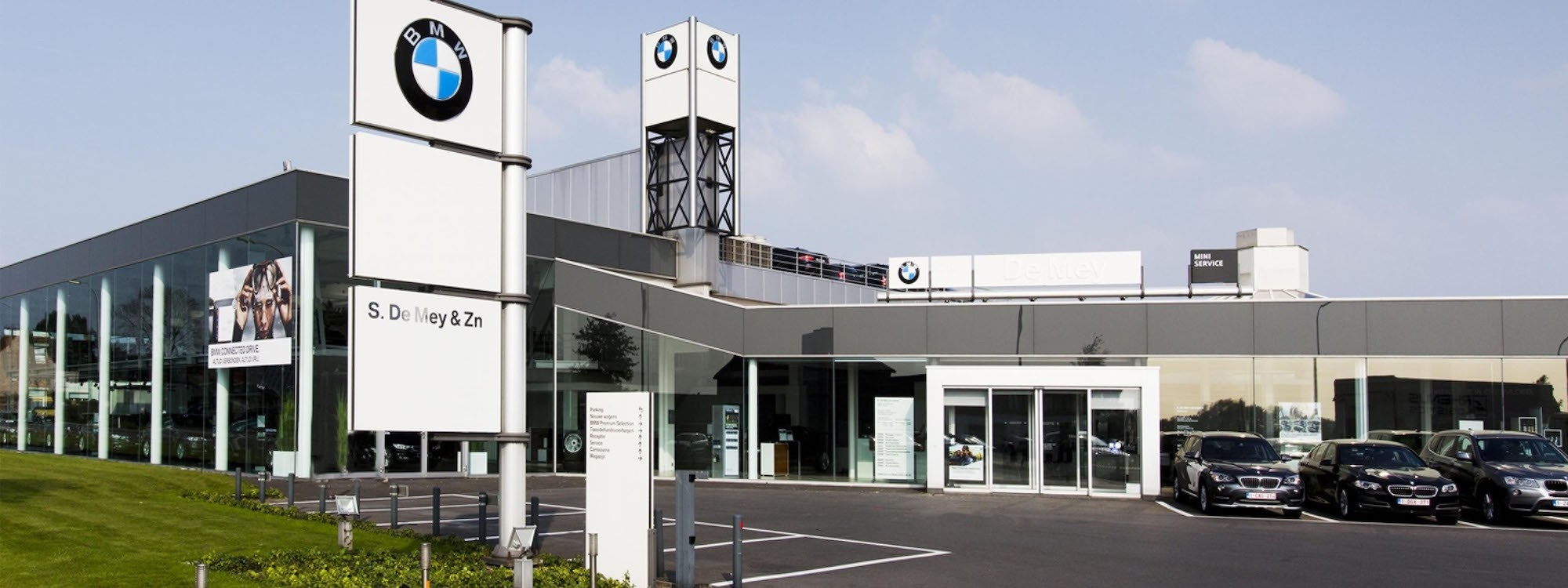 Header BMW Garage De Mey & Zonen - Maldegem
