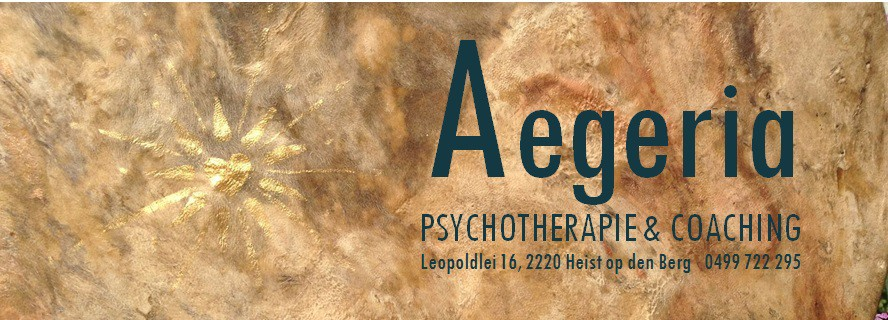 Header AEGERIA  Therapie & Coaching - Therapeut Heist-op-den-Berg
