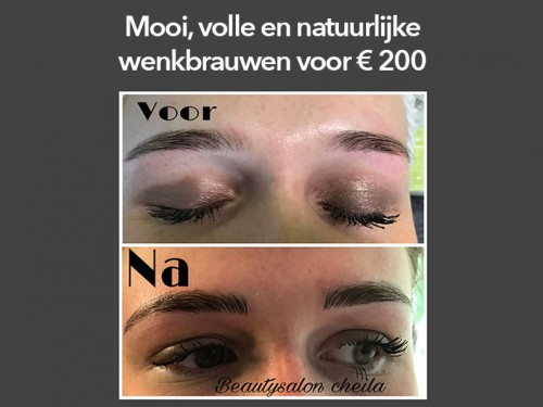 Microblading behandeling