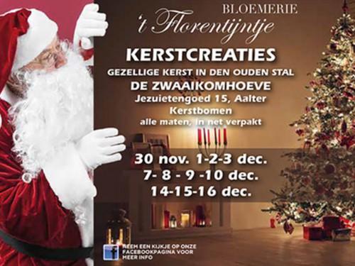 Vier Kerst Met Bloemerie T Florentijntje Inforegio Be