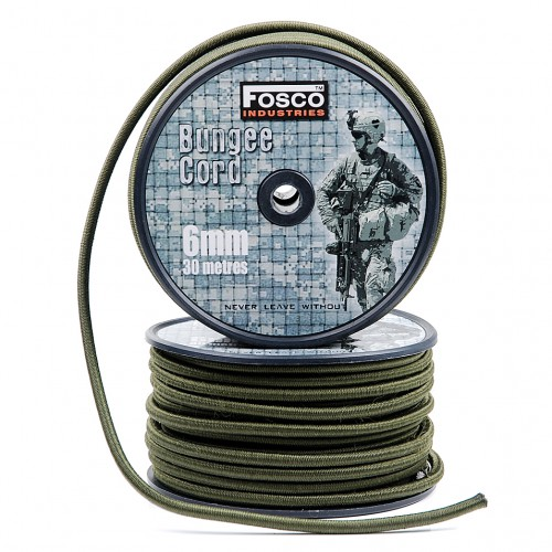 BUNGEE CORD 6 MM 30 MTR.