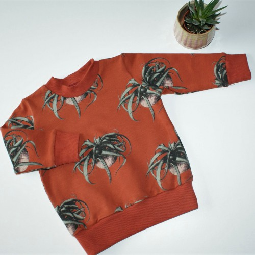 Sweater Air plant - maat 68 - 80